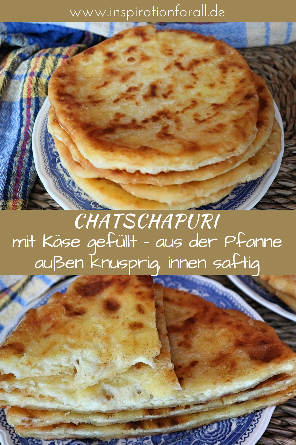 Photo of Khachapuri – delicious recipe for Georgian cheese bread from the pan