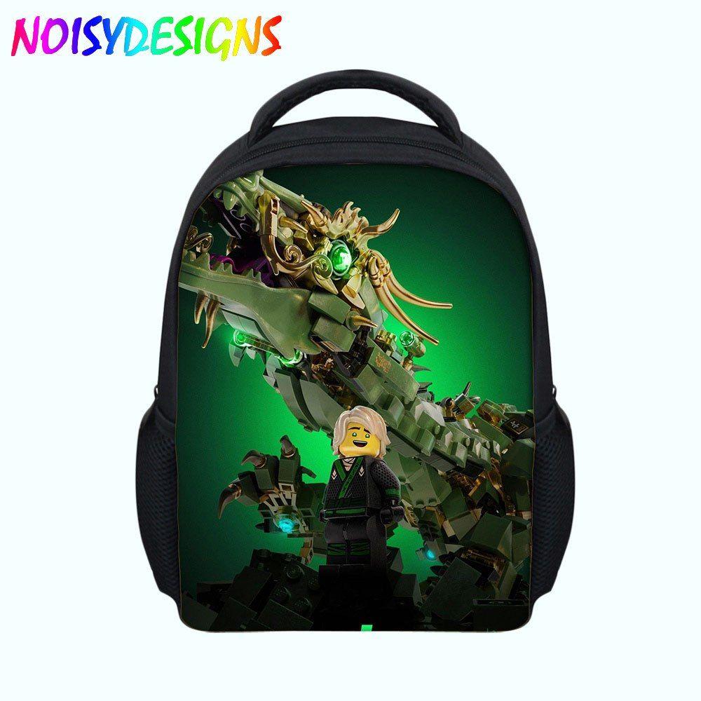 Games Ninjago Rugzak Bag Children School Bags Cartoon Movie Printed Shoulder Bags Backpacks Kids Boys Students Bag School Girl School Bags