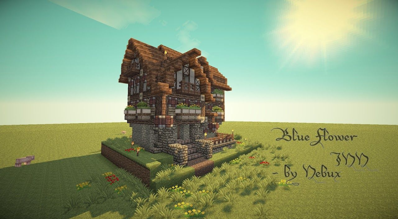 Medieval Minecraft Buildings  Displaying 9> Images For