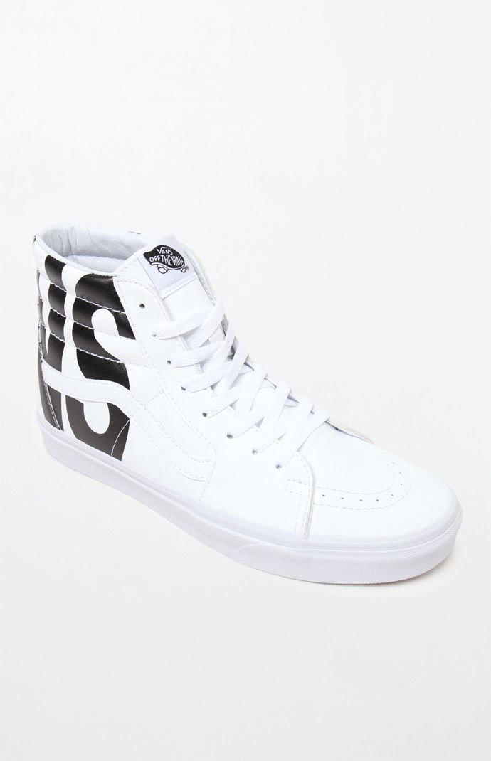 899dc10f3ba03 VANS Vans Classic Tumble Sk8-Hi White Shoes. #vans #shoes #   Vans ...