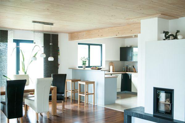 Holzdecke sch*R*icke Küchen Pinterest - holz decke haus design bilder