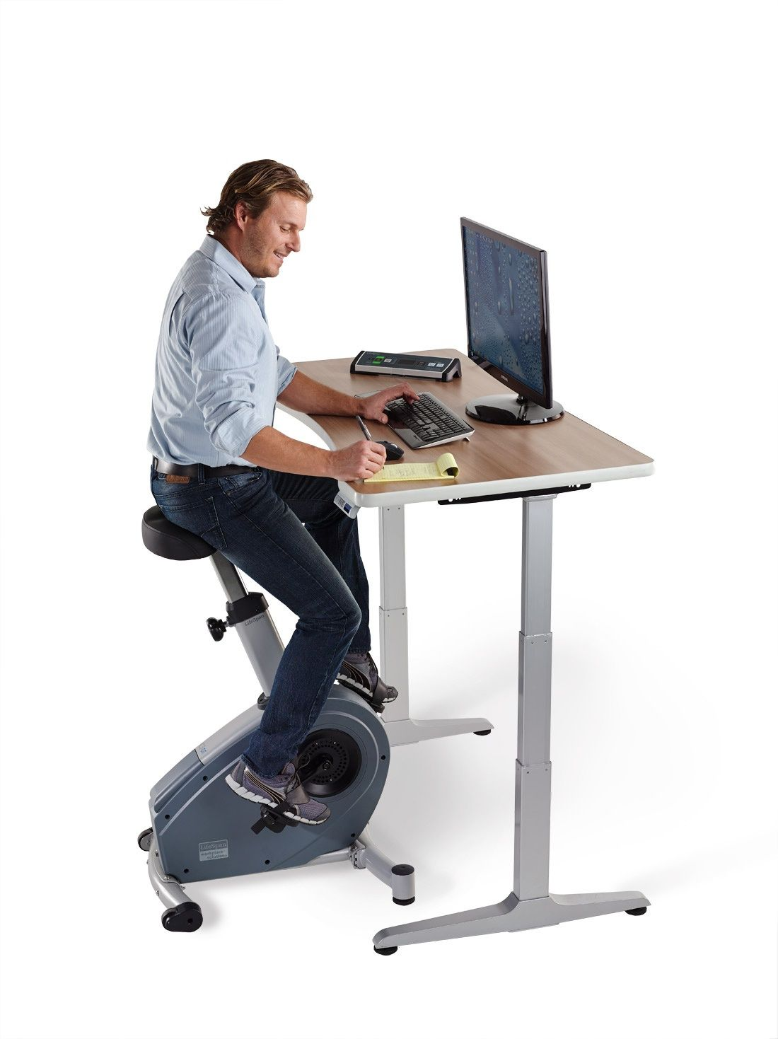 Ride Through Your Day With This Lifespan Under Desk Exercise Bike Purchase An Office Cycle To Pedal Workday Now At Officechairsusa