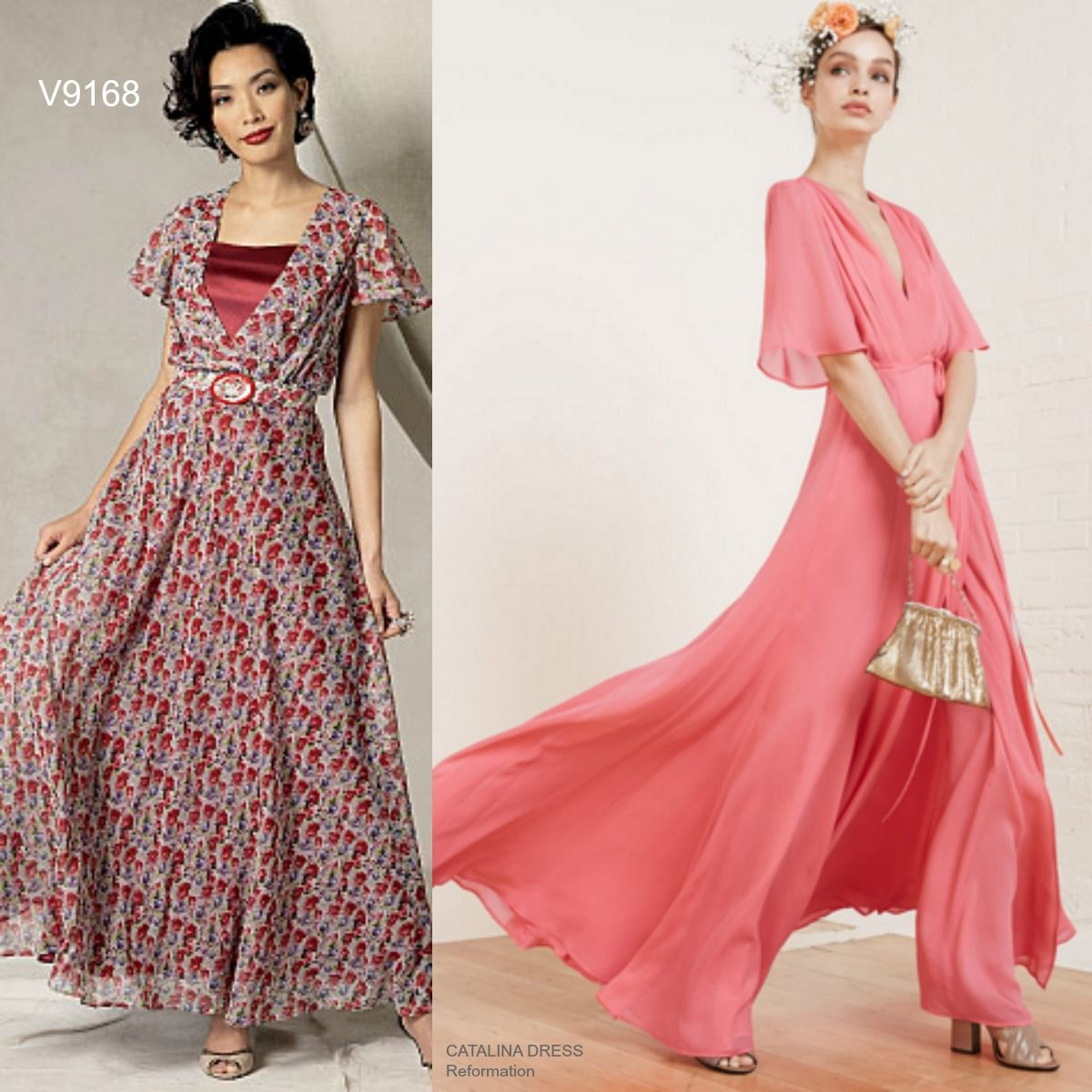 Sew the Look: Romantic maxi dress for summer weddings and music ...