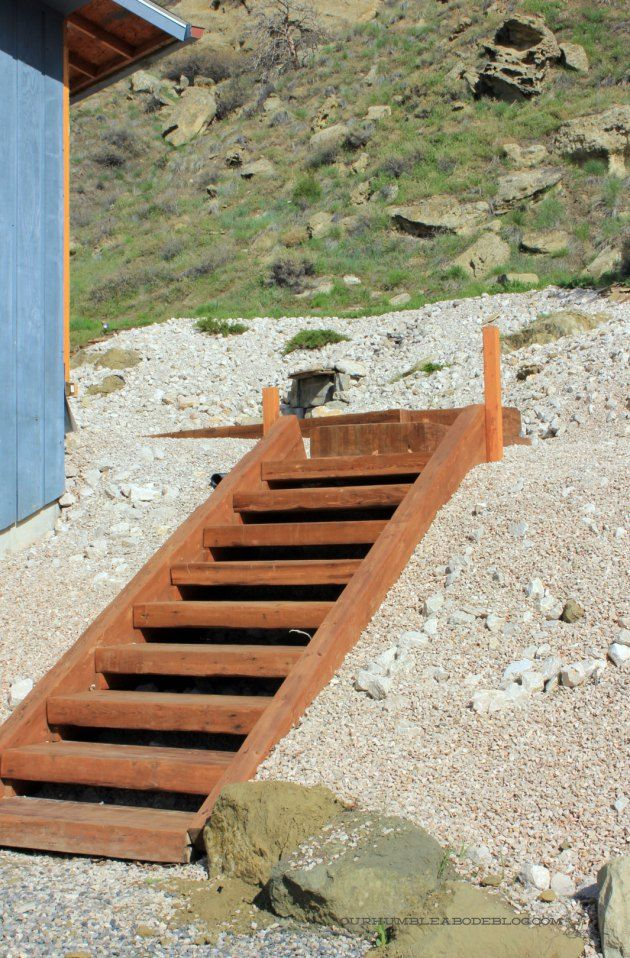Best How To Build Wood Steps Up A Hill Outdoor Stairs Wooden 400 x 300