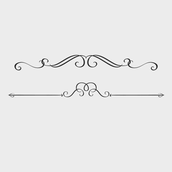 free vector swirly text