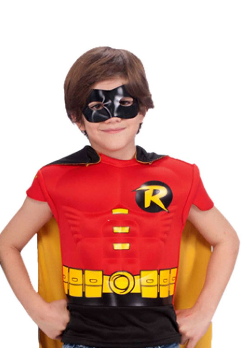 Robin Muscle Top Costume, Child General Kids Costumes at