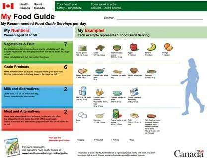 Does The Canada Food Guide Need A Healthy Dose Of Reality I And Many Other Experts Such As Doctors Nutritionists Canada Food Guide Canada Food Food Guide