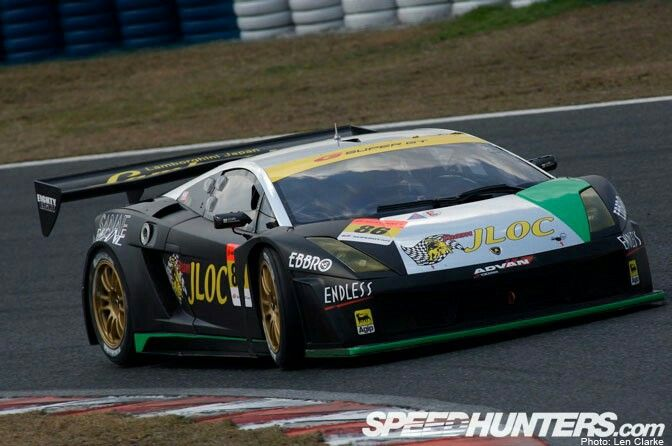 Eighth In The GT Rankings Is The Lamborghini From JLOC - Sports car rankings