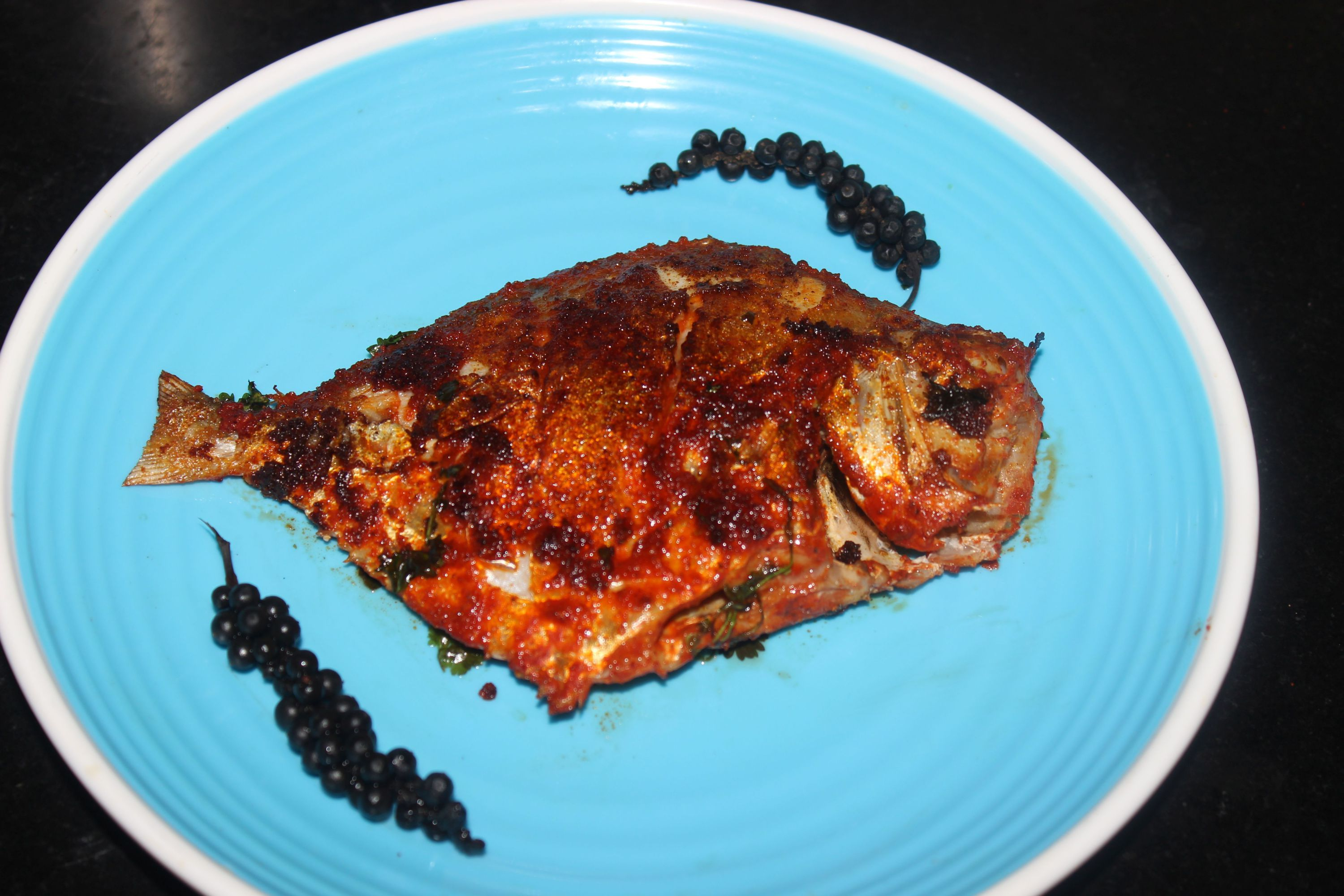 Edit post indian recipes wordpress pomfret fish fry for Fish fry recipe indian