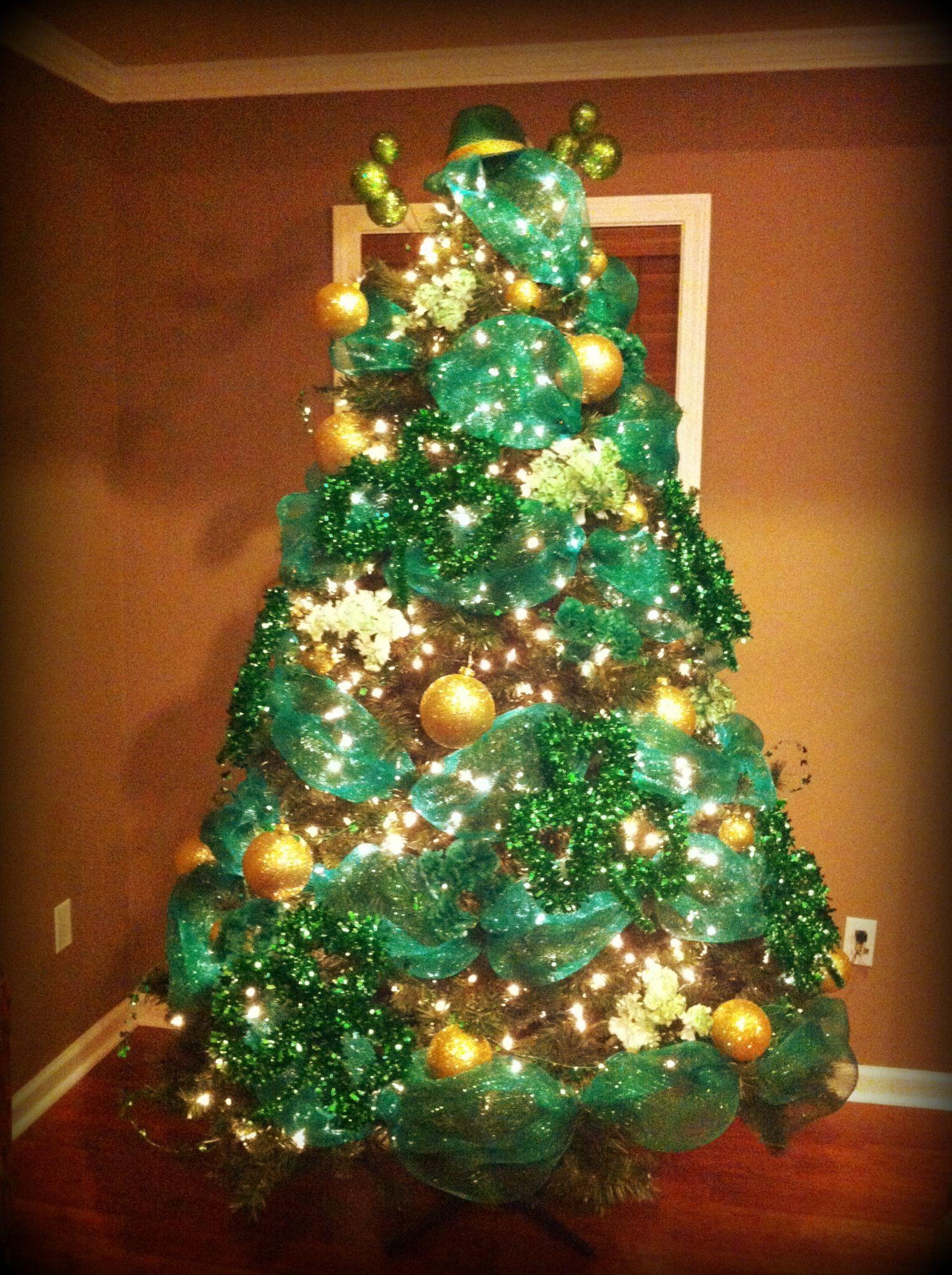 St. Patrick's Day tree!! Holiday tree decorations, Irish