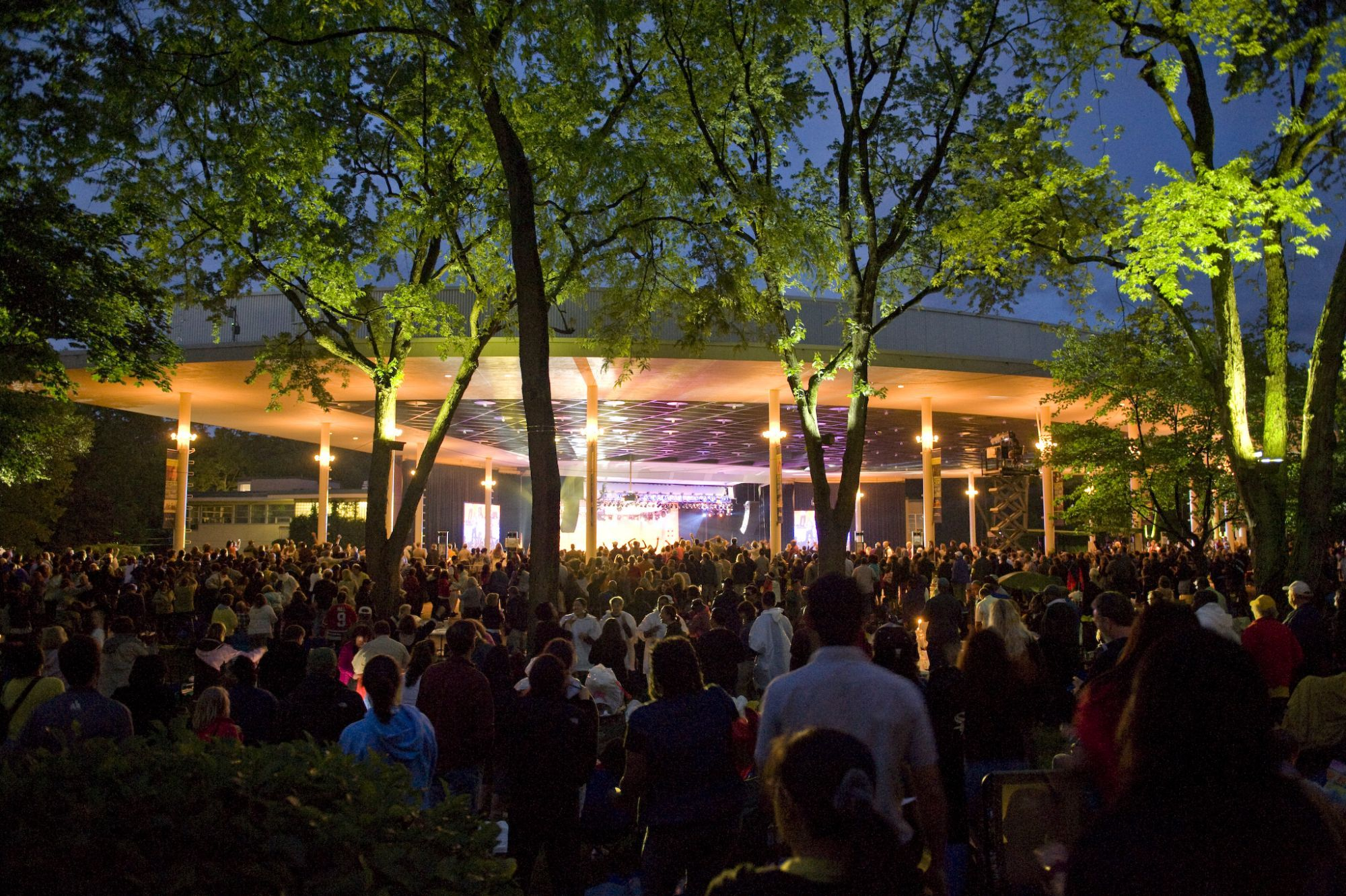 Wether you are sitting in the amphitheater or having a picnic on the lawn Ravinia Festival