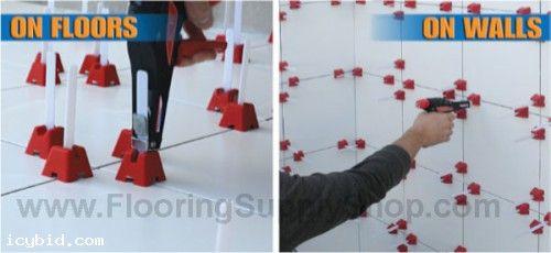 Tuscan Leveling System Pro I Kit Icybid Com Best Ebay Alternative Online Auctions Tile Leveling System Tuscan Tile Tile Spacers