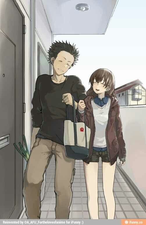 A silent voice - I really need to see them together. PLEASE, SHOYA, LISTEN TO HER, LISTEN TO YOUR HEART ! <3