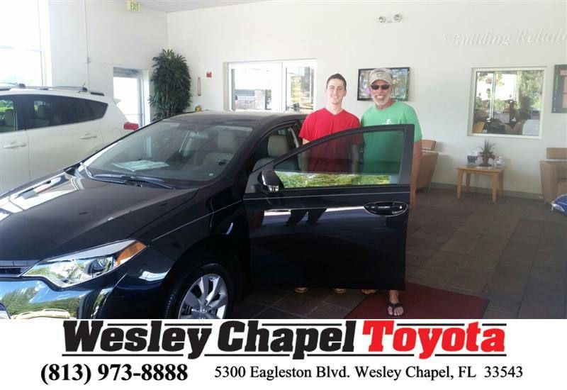 Happy anniversary to alan on your toyota corolla from