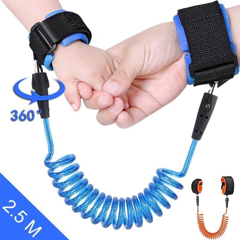 Sicherheitsgurt Kinder Leine Anti-Verloren Wristband Strap Handgelenk Gürtel