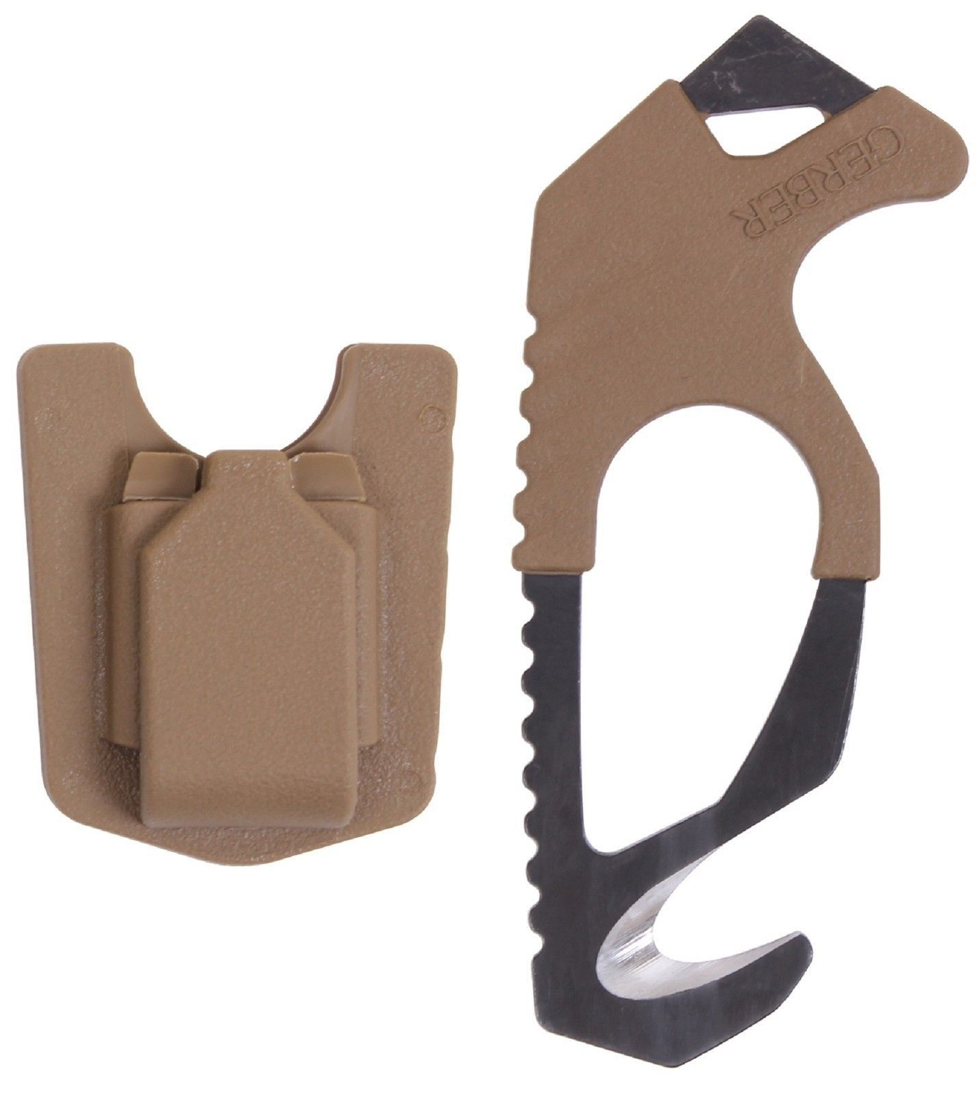 "Gerber Seatbelt & Nylon Strap Cutter - 5"" Compact Safety Rescue Blade (~$15-20)"