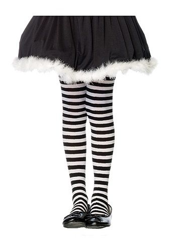 98cb6979d2eac Our girls black and white striped tights are perfect for your kids Alice in  Wonderland costumes! This Alice in Wonderland accessory is perfect for your  ...