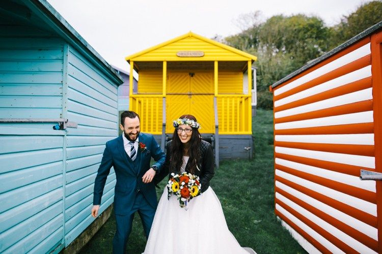 Indie Secret Seaside Wedding http://www.chrisbarberphotography.co.uk/