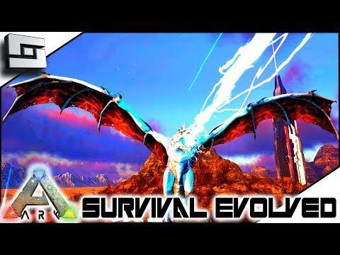 nice ARK: Survival Evolved - Taming Alpha Lightning Wyvern! E17