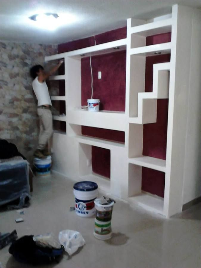 Pin de Eduardo Herrera en Drywall DIY  DIY Home Decor