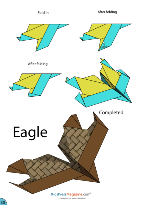 how to make a paper aeroplane instructions