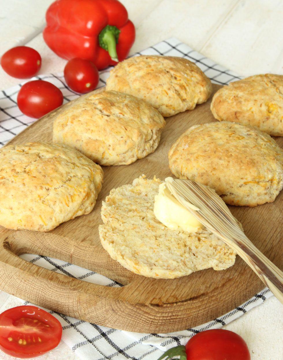 saftiga scones recept