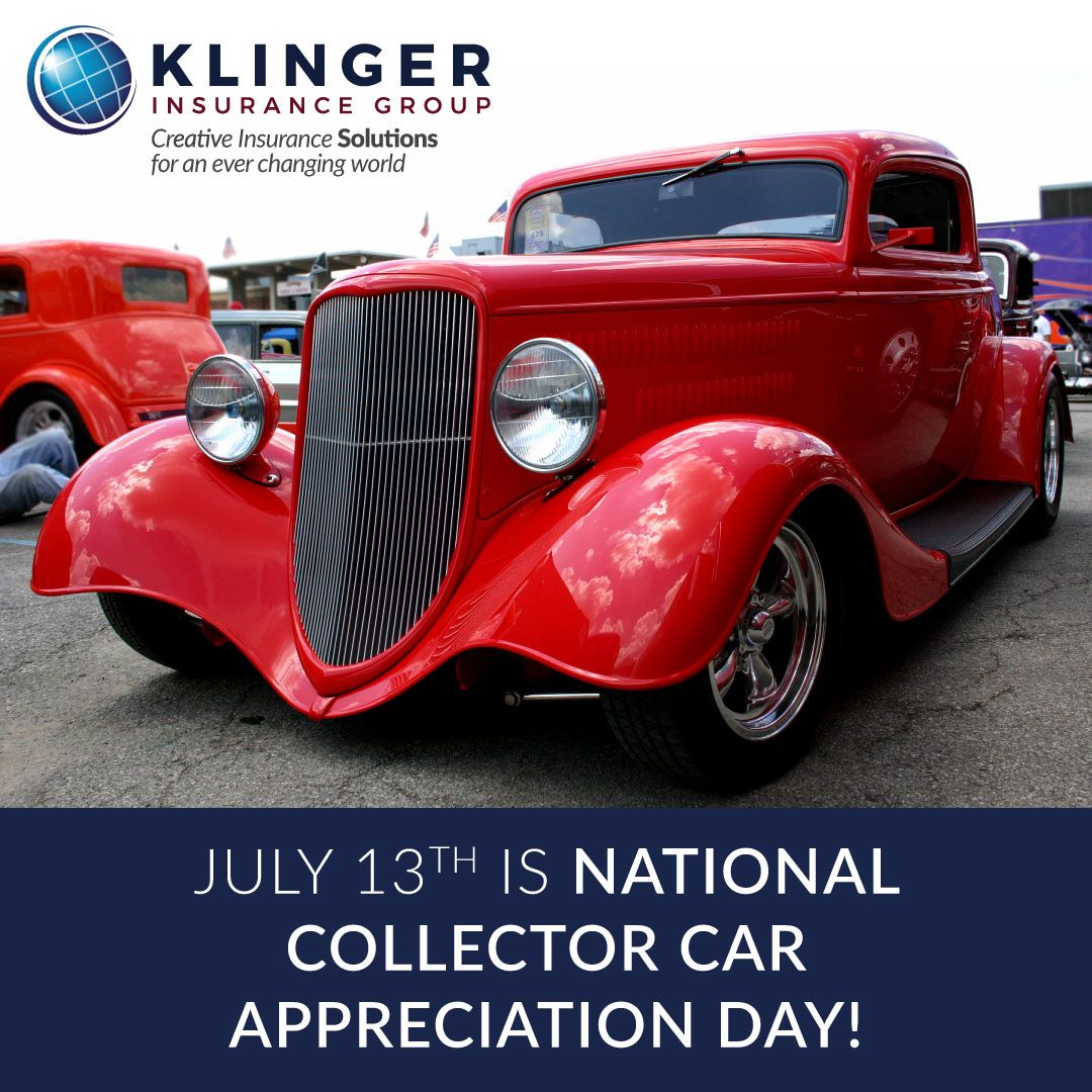 July 13 Will Be Collector Car Appreciation Day Group Insurance