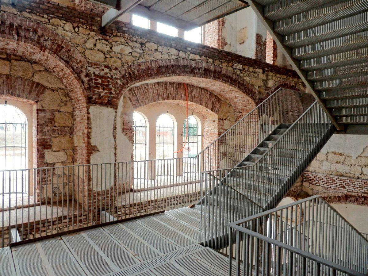 Lavori in corso alla provianda di santa marta architettiveronaweb massimo carmassi - Idee architettura interni ...