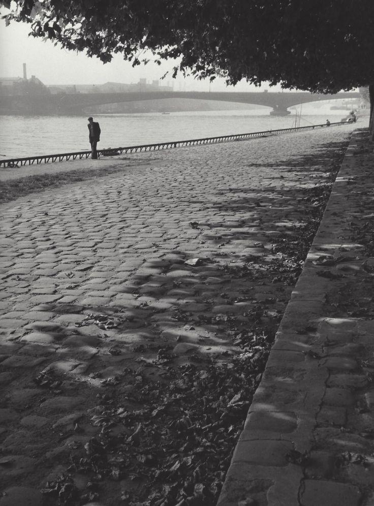 """ Along the Seine "" Paris, about 1954-1959. photo: Kees Scherer:"
