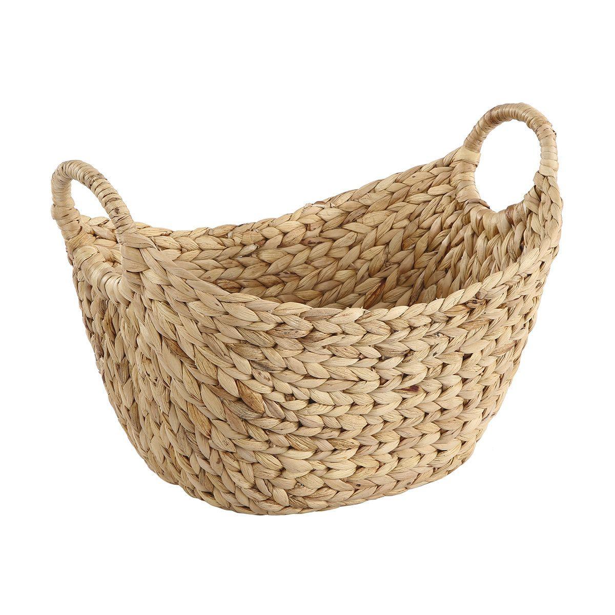 Oval Loop Basket Basket Wicker Laundry Basket Ovals