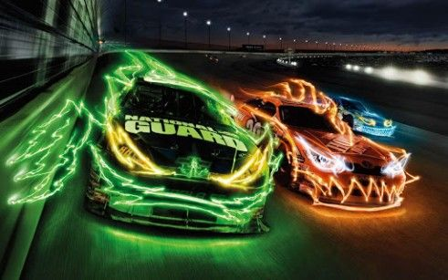 Download 3d Super Race Cars For Android By Extreme Off Road Racing Neon Car Nascar Nascar Racing