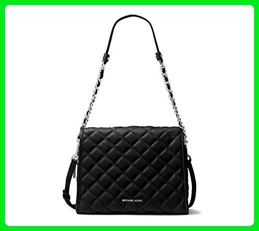 4884ecc31381 Michael Kors Rachel Medium Quilted Satchel Handbag (Black) - 30T6TR4S2L  BLACK - Shoulder bags (*Amazon Partner-Link)