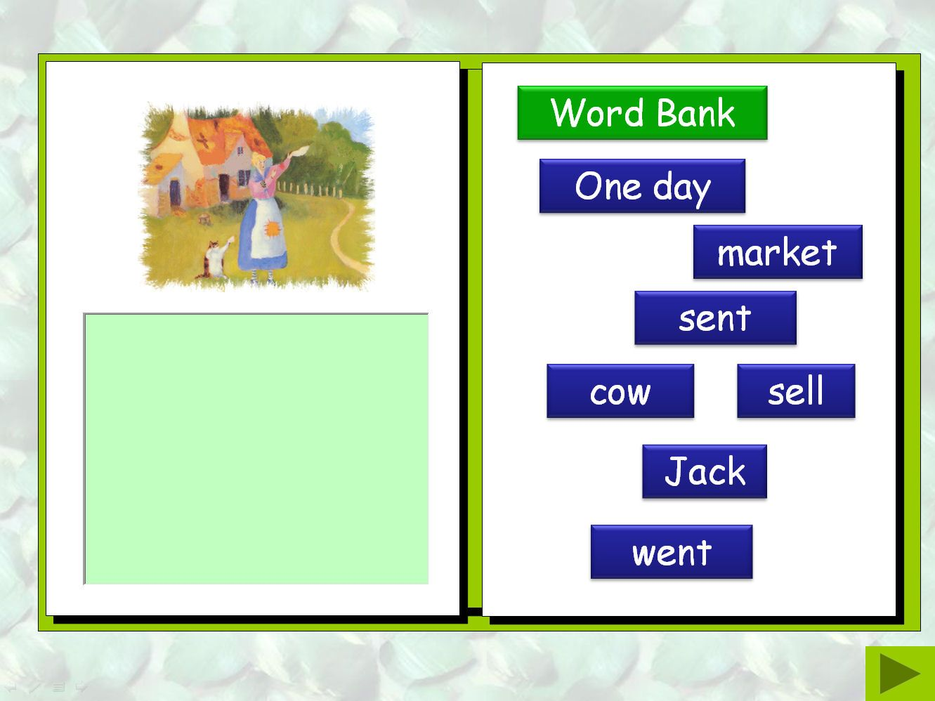 A Collection Of Resources For Jack And The Beanstalk Includes A Storybook Style Powerpoint