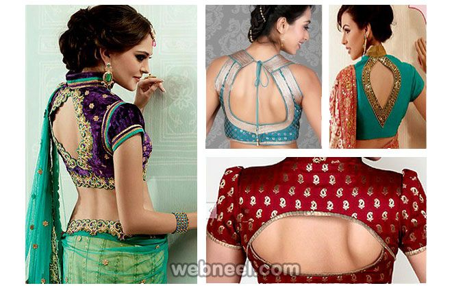 2d7d26115fbfd 50 Different types of Blouse Designs Patterns - Designer Saree Blouses -part  3. Read