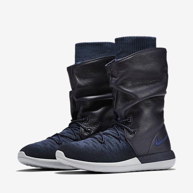 Nike Roshe Two Flyknit Hi Zapatillas - Mujer