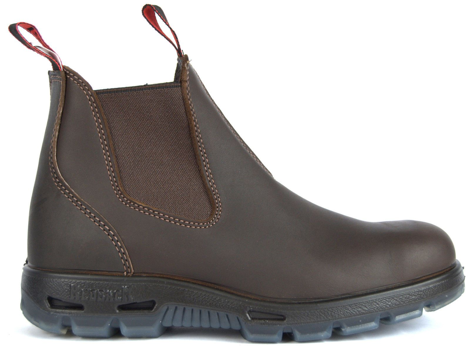 Details About Original Redback Unpu Mens Non Steel Toe Work Boots Puma Brown Water Resistant Steel Toe Work Boots Redback Boots Slip On Work Boots