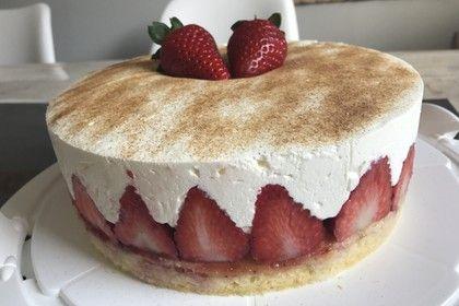 Fanta Kuchen Mit Erdbeeren Rezept Erdbeer Kuchen Kuchen Und Torten Kuchen