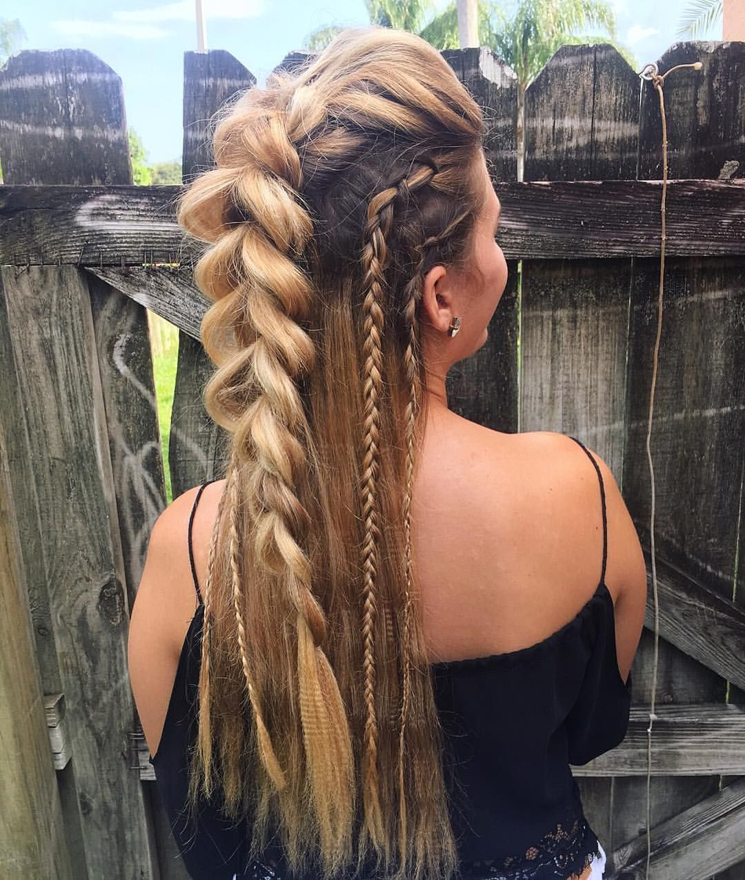 "Invisible Bead Extensions FL on Instagram: ""My favorite braided"