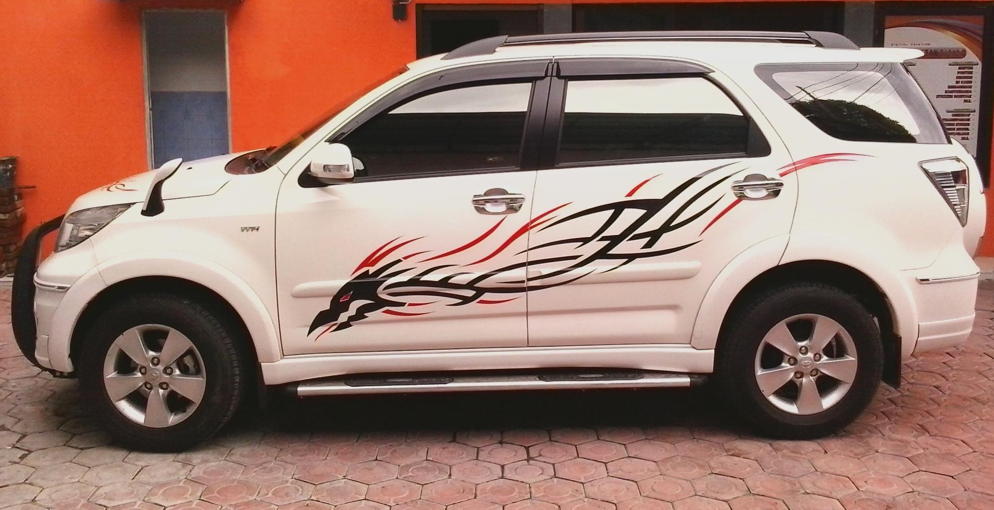 Toyota Rush Photos >> Tribal Striping on Toyota Rush | Cutting Arts Sticker - Cars | Pinterest | Toyota