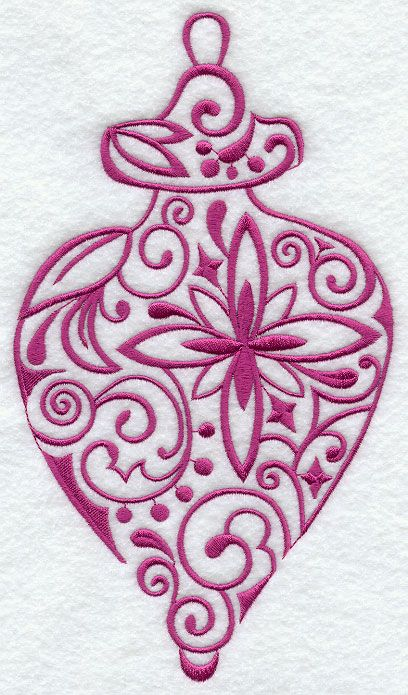 Christmas Ornament Machine Embroidery Designs Design Just Right For