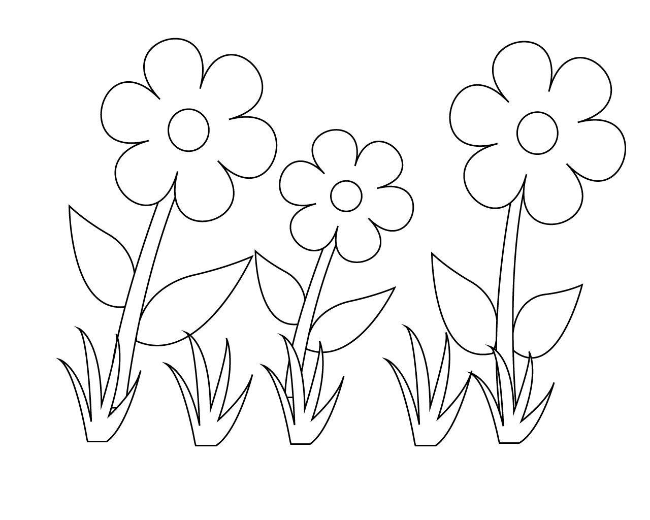 Preschool Coloring Pages Flowers CareersPlay Preschool