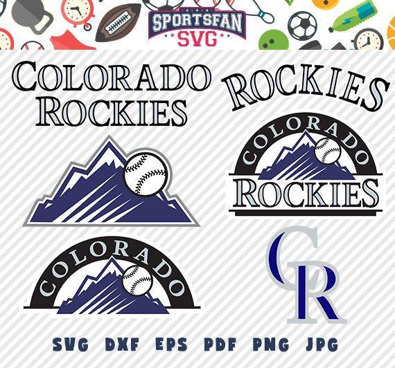 Colorado Rockies Svg Pack- Baseball Team, Baseball League