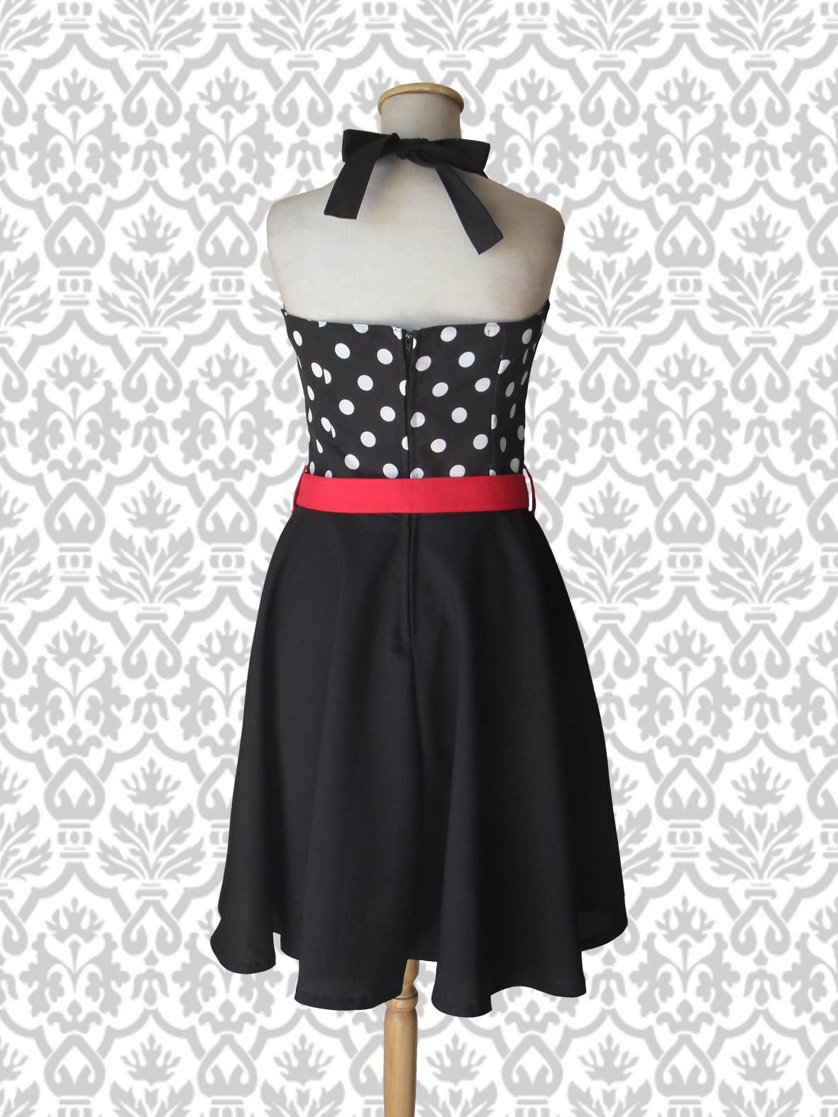Vest Lucy Lunares grandes (atrás)  #pinup #vestidopinup #pinupdress #polkadot #lunares #vestidolunares #vestidoplato #ropa #indumentaria #pinup