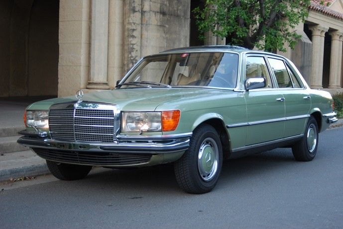 1975 mercedes 280 se european model automobiles. Black Bedroom Furniture Sets. Home Design Ideas