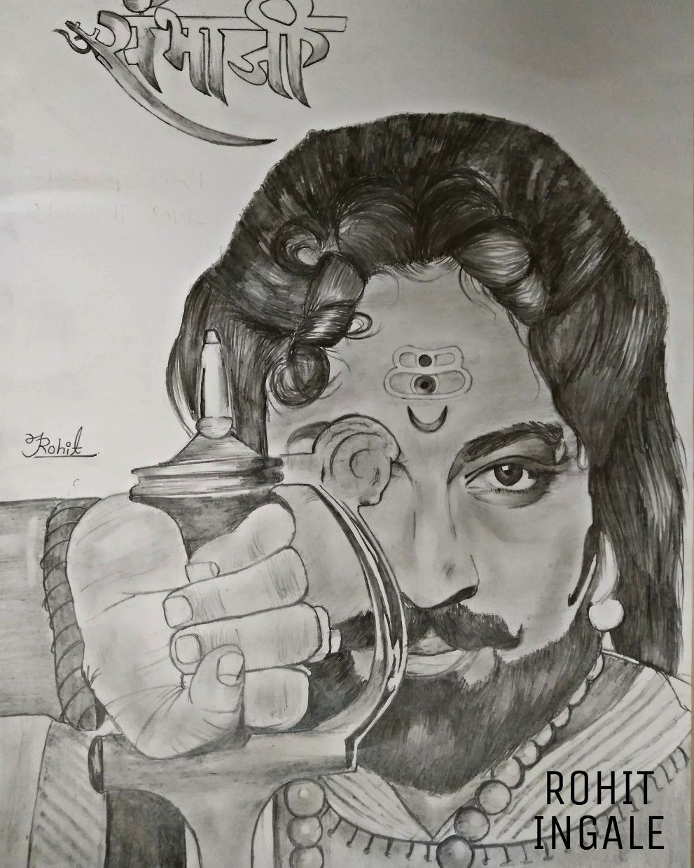Sambhaji maharaj sketch amol kolhe shivaji maharaj hd wallpaper face sketch lord shiva
