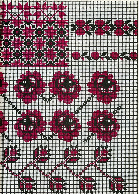 Pin de Оксана en вишивка   Pinterest   Bordado, Puntos y Punto de cruz