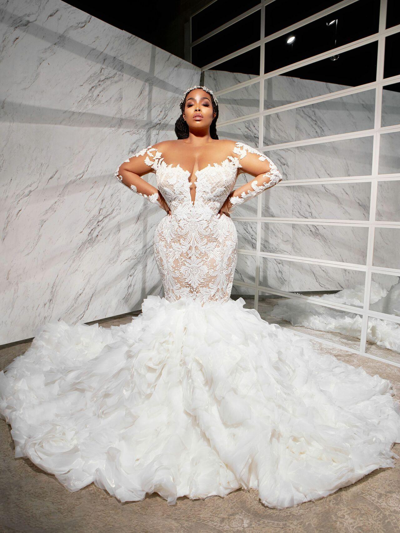 20 Black Wedding Dress Designers to Follow Now   American wedding ...