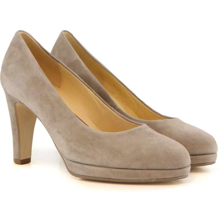 Gabor pump kiesel suede beige dames schoenen | GABOR, GRATIS