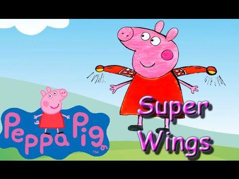 Peppa Pig Português - Desenho Peppa Pig Super Wings Completo Portugues B..