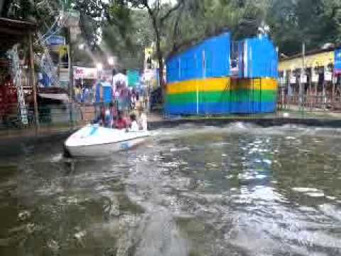 Boat Trip in Trichur Pooram Exhibition 2014